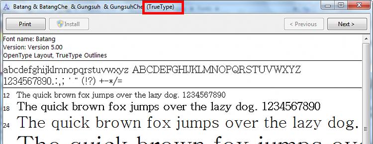 Remove irrelevant fonts + font file types-font.png