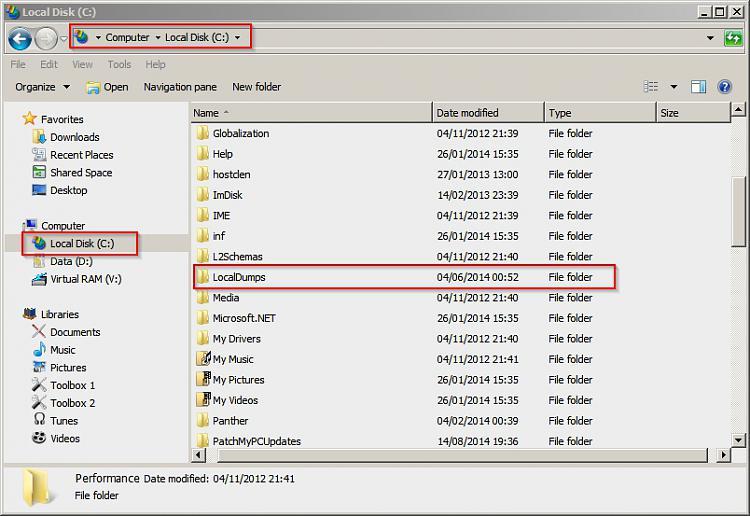 Explorer (Not Responding) When Selecting Photos-local-disk-c_-_localdumps.jpg