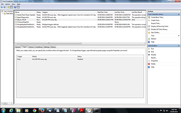 robocopy script is not working through Scheduler-trigger-tab.png
