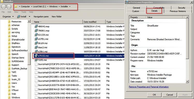 Do I need C:\Windows\Installeralt=c5da8.msi-msi-properties.jpg