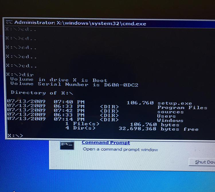"""Startup repair"" failing - hard disk space issue?-image.jpg"
