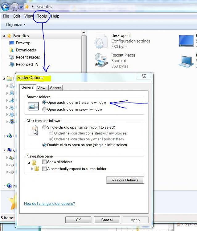 Help needed to open Favorites shortcuts in same Explorer window-folder-options.jpg