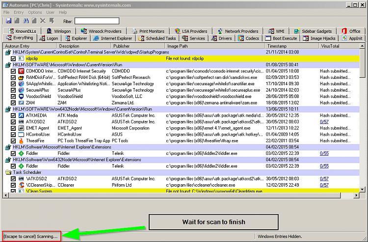 Windows Explorer crashes whenever I try to resize/snap the window-autoruns.jpg