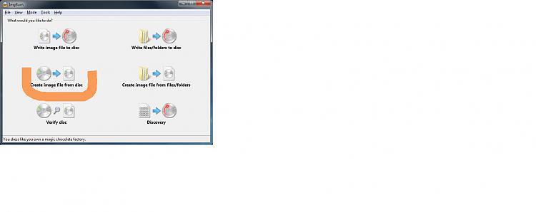 cd rom manual info to iso format windows 7 help forums rh sevenforums com Mount ISO HP SmartStart CD ISO