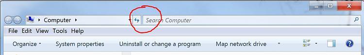 Explorer window file path/search toolbar won't unlock-search_bar_trouble.jpg
