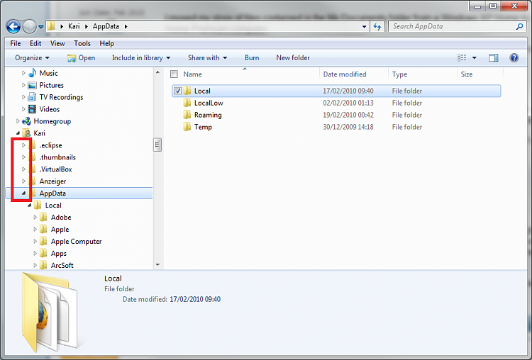 How to configure Windows 7 Explorer-explorer_focus_left.png