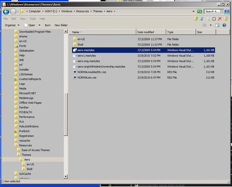 Take / Assign Ownership of file / folder-aero.msstylesclassicisniceandgrey.jpg