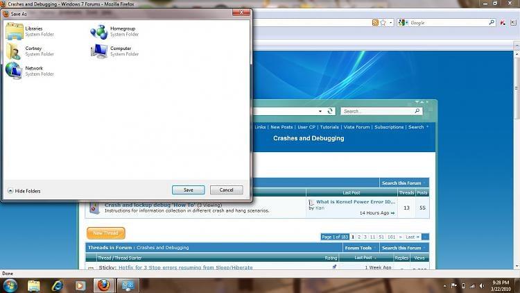 Windows 7 Navigation Pane Issue-issuefirefox.jpg