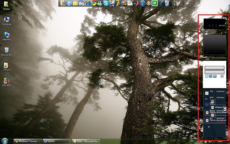 Windows 7 sidebar gadget display problem-1.jpg