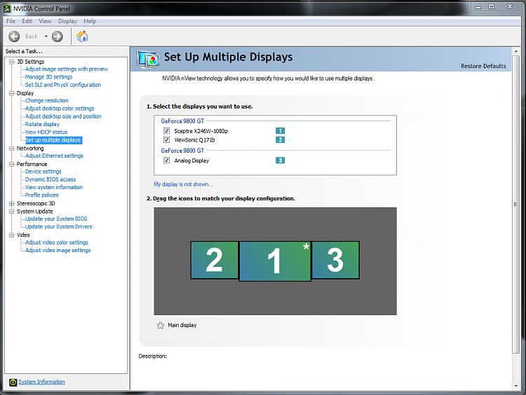 Oddball multimonitor question - Windows 7 Help Forums