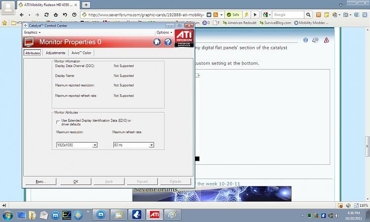 ati mobility radeon hd 4650 driver download for windows 7 32bit