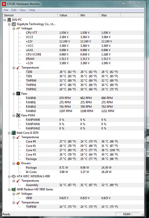 PC Monitor: Random white & blue green screen displays?-hwmonitor-temps.png
