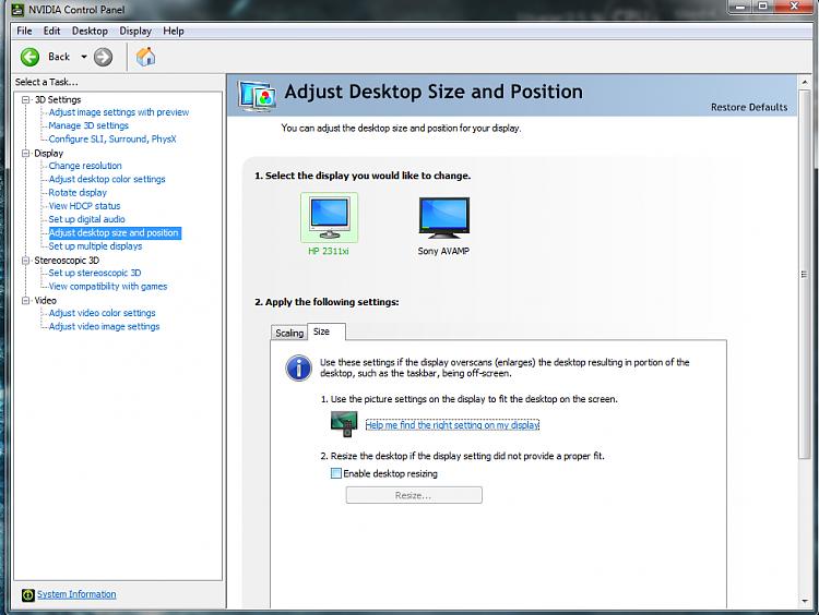 Screen resolution problem? - Windows 7 Help Forums