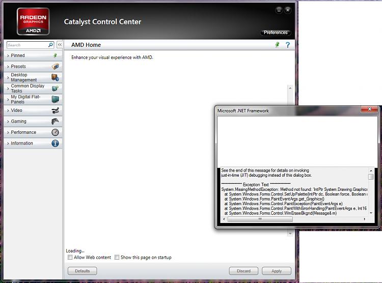 Microsoft .Net Framework error pop up when running  ATI CCC-error.png