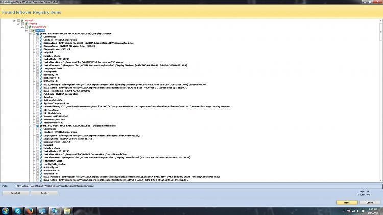 Windows 7 Ultimate Freezing NVIDIA Open GL Driver - exception-delete-nvidia-drivers.jpg