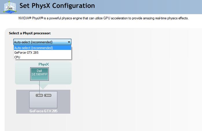 257.21 WHQL Physx?