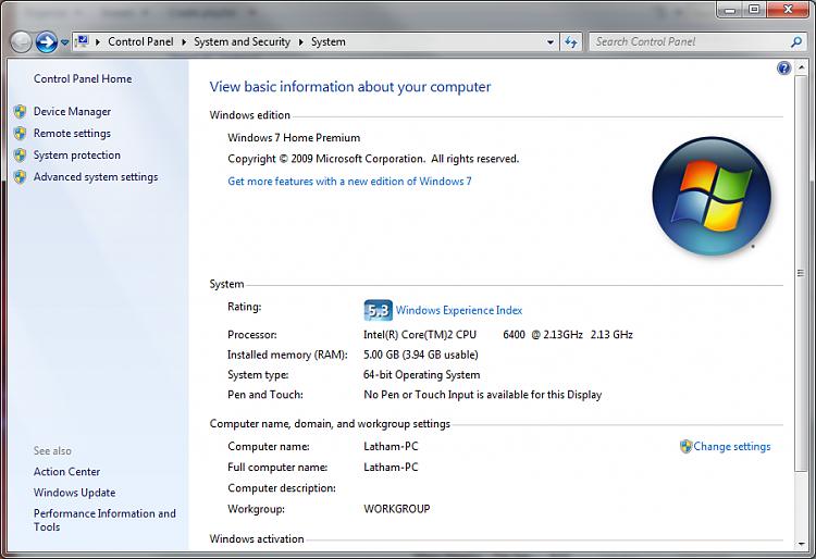64 bit Windows only recognising 4GB of RAM.-win7_64bit_info.png