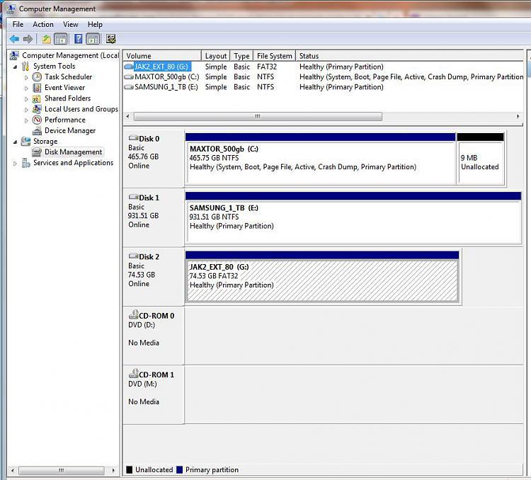 "2nd internal hard drive wont appear ""error: core library not found""-disk_management_oct_2009.jpg"
