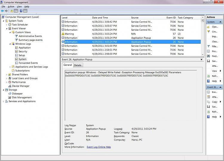 My external hard drive is AutoRunning-windows-logs-system-general.jpg