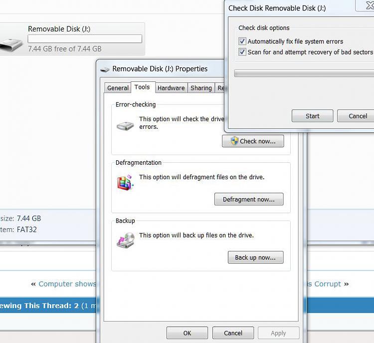 Got An Error At Clean Part Of Diskpart Solved Windows 7 Help Forums