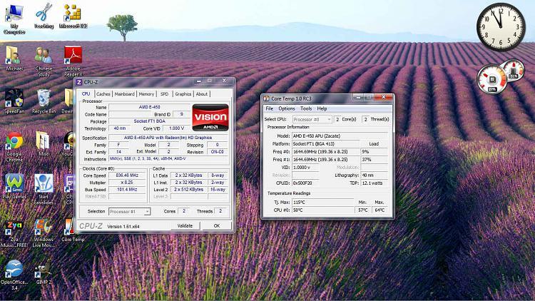 Maximum Temperature - Processor (AMD E-450 APU ~ 1.65GHz)-cpuspeed.jpg