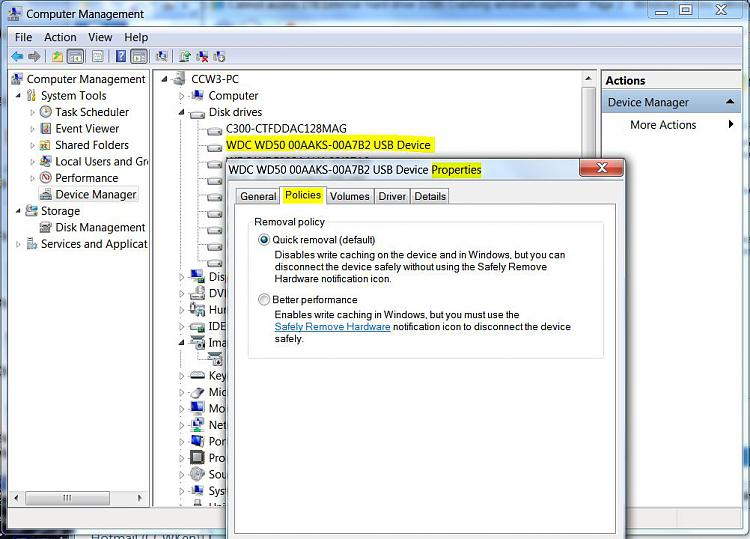 Cannot access 1TB External Hard drive (USB) Crashing windows explorer-usb-drive-write-caching.jpg