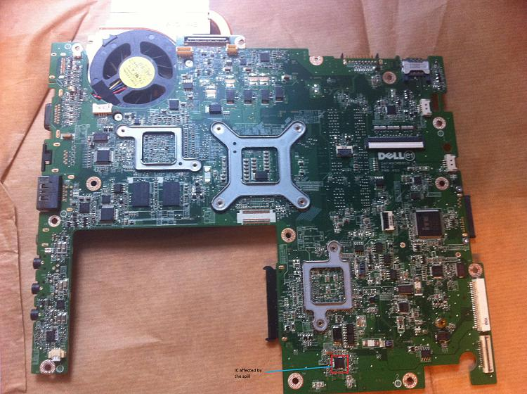 Motherboard Problem, IC shorted-motherboard_affected-spill.jpg