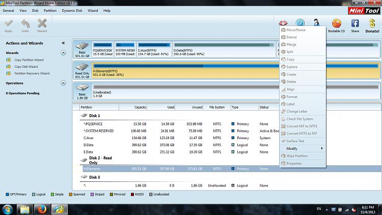Wd elements 1023 1tb formatting windows 7 help forums.