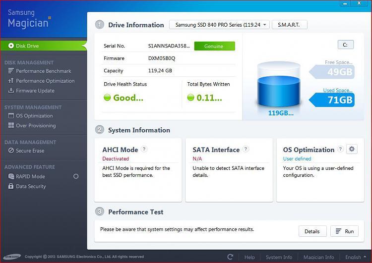 Bios settings re new SSD boot drive & MB Sata connectors-ssd-magician.jpg