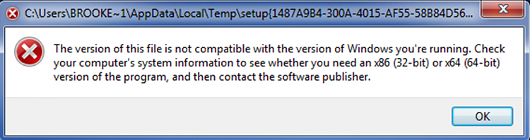 16 bit message on my 64 bit computer-error1.png