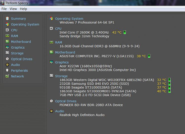 High CPU temp? Solved - Windows 7 Help Forums