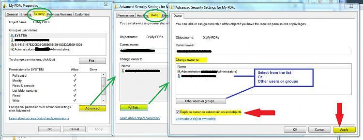 Cannot access my old SATA hard drive-permission-folder.jpg