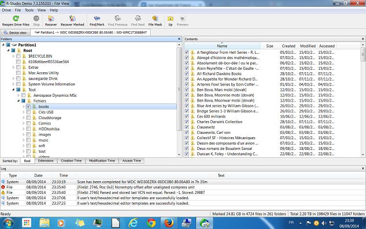 Western Digital 3 TB problem - RAW & unalocated-files.png