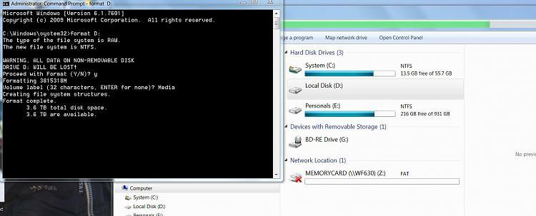 Installing new 4TB Hard Drive with GPT won't format-format-stuck..jpg