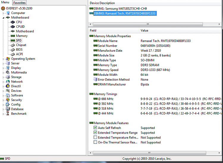 Toshiba Laptop RAM Upgrade not recognized in windows-everestramaxelram.png