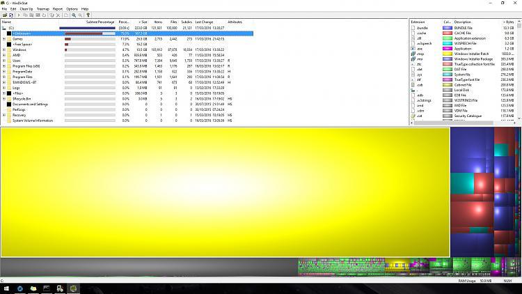 Is my SSD Dying? 200GB missing-windirstat170316.jpg