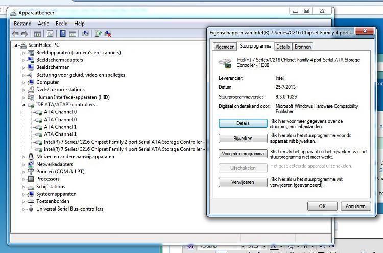 updating chipset drivers windows 7