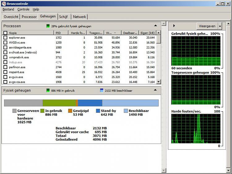 Win7(64bit) shows 3gb RAM usable but Vista (32bit) shows full 4gb Ram-resmon_w7_64bit.jpg
