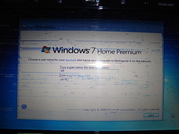 HP Pavilion DV2000 display problem-dsc05404.jpg