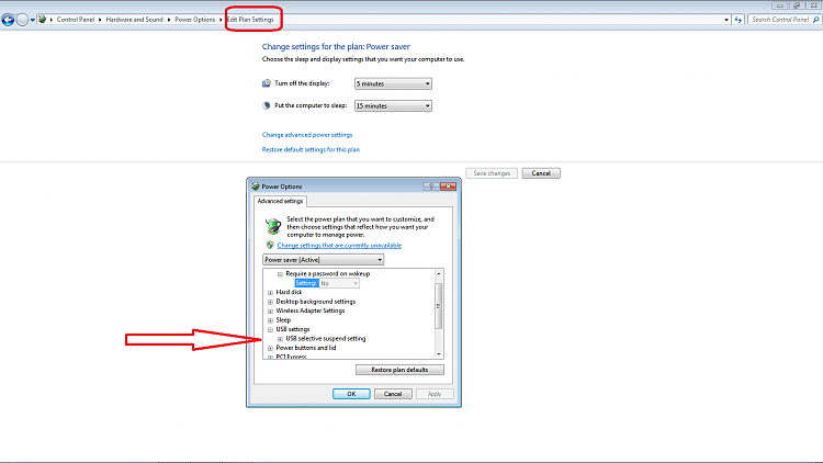 USB mouse unresponsive after hibernate mode-power.png