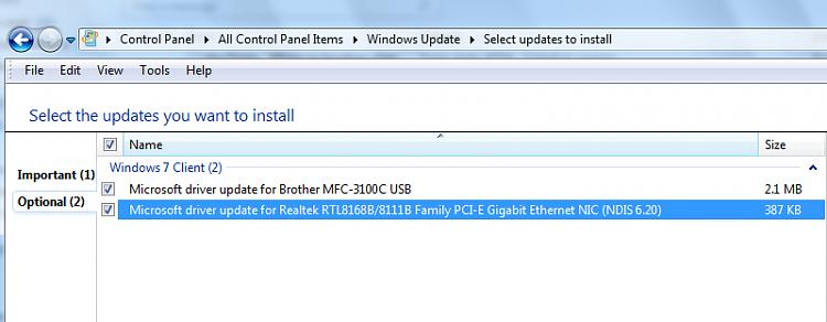 7260-rtm - Windows 7 Help Forums