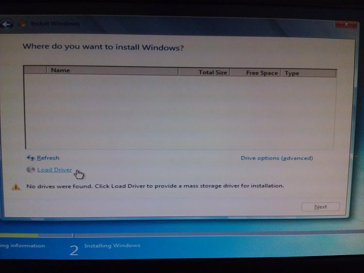 No device drivers were found while installing Windows 7-screenshot-1.jpg