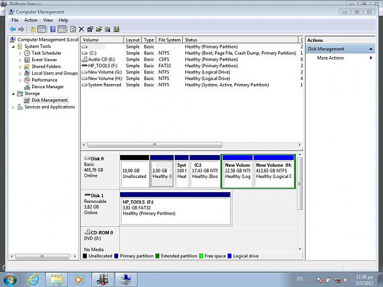 How do I correct installation problems for Windows 7-capture-disk-management.jpg