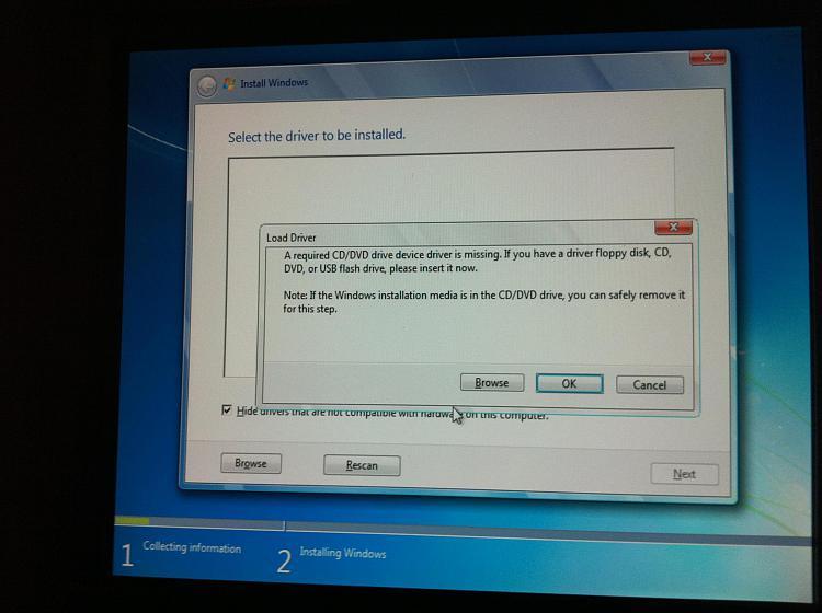 Windows 7 install from x32 to x64 error! Nightmare!-img_1768.jpg