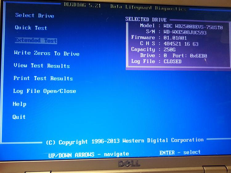 Multiple errors when formatting, partitioning, installing Windows-extended-test-running.jpg