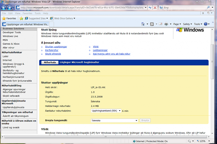 Vista Language packs in W7 - possible or not-islanpack.png