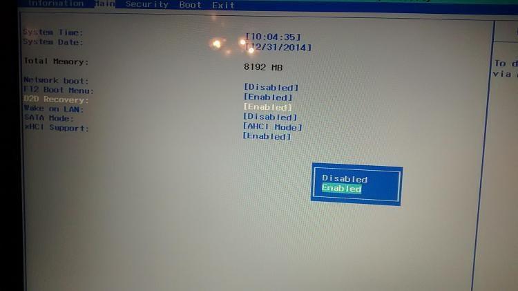 Windows 7 Downgrade Installation Hangs on