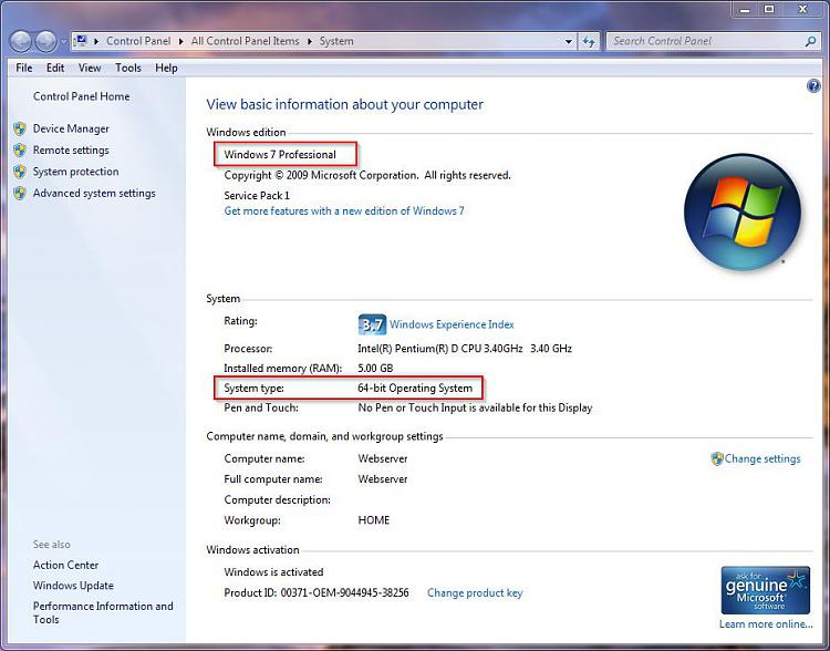 Windows 7 Ultimate 64 bit Upgrade Problem-win7prosys.jpg