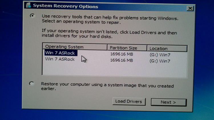 How can I remove a DUPLICATE entry in BootMenu-win7dup-sro.jpg