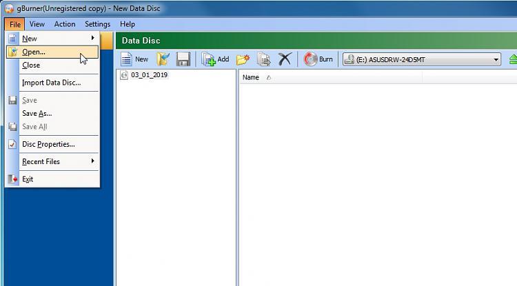 Install Windows 7 on an old non UEFI bios.-gburner-open.jpg
